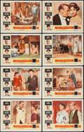 "Movie Posters:Romance, Love in the Afternoon (Allied Artists, 1957). Lobby Card Set of 8(11"" X 14""). Romance.. ... (Total: 8 Items)"