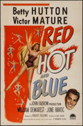 """Movie Posters:Comedy, Red, Hot and Blue & Other Lot (Paramount, 1949). One Sheets (2)(27"""" X 41""""). Comedy.. ... (Total: 2 Items)"""