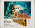 """Movie Posters:Fantasy, When Dinosaurs Ruled the Earth (Warner Brothers, 1970). Half Sheet (22"""" X 28""""). Fantasy.. ..."""