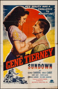 "Movie Posters:War, Sundown (Masterpiece Productions, R-1948). One Sheet (27"" X 41"").War.. ..."