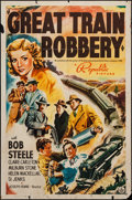 "Movie Posters:Crime, Great Train Robbery (Republic, 1941). One Sheet (27"" X 41"").Crime.. ..."