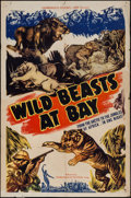 "Movie Posters:Documentary, Wild Beasts at Bay (Cosmopolitan, 1947). One Sheet (27"" X 41"").Documentary.. ..."