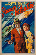 "Movie Posters:Crime, The Return of Jimmy Valentine (Republic, 1936). One Sheet (27"" X41""). Crime.. ..."