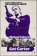 "Movie Posters:Crime, Get Carter (MGM, 1971). International One Sheet (27"" X 41"").Crime.. ..."
