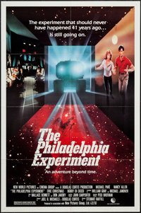 """The Philadelphia Experiment & Other Lot (New World, 1984). One Sheets (2) (27"""" X 41""""). Science Fiction..."""