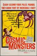 "Movie Posters:Science Fiction, Cosmic Monsters (DCA, 1958). One Sheet (27"" X 41""). ScienceFiction.. ..."