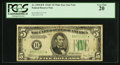 Small Size:Federal Reserve Notes, Fr. 1959-B* $5 1934C Wide Federal Reserve Star Note. PCGS Very Fine 20.. ...