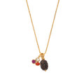 Estate Jewelry:Necklaces, Multi-Stone, Rudraksha, Gold Pendant-Necklace. ...
