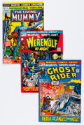 Bronze Age (1970-1979):Horror, Marvel Bronze Age Horror Comics Group (Marvel, 1970s) Condition:Average VF.... (Total: 19 Comic Books)