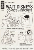Original Comic Art:Covers, Carl Barks and Tony Strobl Walt Disney's Comics and Stories #279 Cover Original Art plus Book and Comic Group (Gol... (Total: 3 Items)