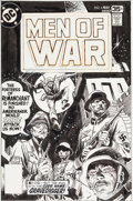 Original Comic Art:Covers, Joe Kubert Men of War #6 Cover Original Art (DC, 1978)....(Total: 2 Original Art)