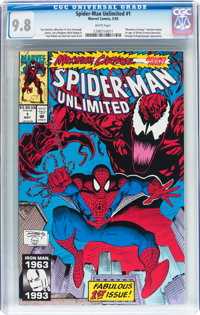 Spider-Man Unlimited #1 (Marvel, 1993) CGC NM/MT 9.8 White pages