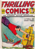 Golden Age (1938-1955):Superhero, Thrilling Comics #8, 10, and 11 Bound Volume (Better Publications, 1941)....