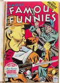 Golden Age (1938-1955):Miscellaneous, Famous Funnies #205-212 Bound Volume (Eastern Color, 1953-54)....