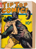 Golden Age (1938-1955):Miscellaneous, Tip Top Comics #13-24 Bound Volume (United Features Syndicate/Standard, 1937-38)....