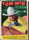Golden Age (1938-1955):Western, Tom Mix Western #1-18 Bound Volumes (Fawcett Publications,1948-49).... (Total: 3 Items)