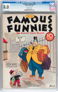 Platinum Age (1897-1937):Miscellaneous, Famous Funnies #20 (Eastern Color, 1936) CGC VF 8.0 Off-whitepages....