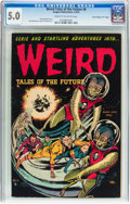 """Golden Age (1938-1955):Horror, Weird Tales of the Future #6 Davis Crippen (""""D"""" Copy) Pedigree(Aragon, 1953) CGC VG/FN 5.0 Cream to off-white pages...."""