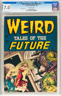 Golden Age (1938-1955):Horror, Weird Tales of the Future #1 (Aragon, 1952) CGC FN/VF 7.0 Off-whitepages....