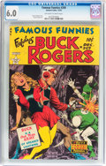 Golden Age (1938-1955):Science Fiction, Famous Funnies #209 (Eastern Color, 1953) CGC FN 6.0 Off-white towhite pages....
