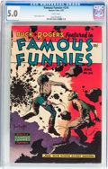 Golden Age (1938-1955):Science Fiction, Famous Funnies #216 (Eastern Color, 1955) CGC VG/FN 5.0 Whitepages....