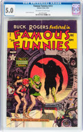 Golden Age (1938-1955):Science Fiction, Famous Funnies #213 (Eastern Color, 1954) CGC VG/FN 5.0 Off-whiteto white pages....