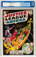 Silver Age (1956-1969):Superhero, Justice League of America #3 (DC, 1961) CGC VF 8.0 Cream tooff-white pages....