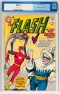 Silver Age (1956-1969):Superhero, The Flash #134 (DC, 1963) CGC NM 9.4 Off-white pages....