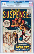 Silver Age (1956-1969):Science Fiction, Tales of Suspense #10 (Marvel, 1960) CGC VF/NM 9.0 Off-white to white pages....
