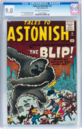 Silver Age (1956-1969):Horror, Tales to Astonish #15 (Marvel, 1961) CGC VF/NM 9.0 Off-white towhite pages....