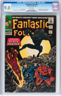 Silver Age (1956-1969):Superhero, Fantastic Four #52 (Marvel, 1966) CGC VF/NM 9.0 White pages....