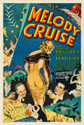"""Movie Posters:Musical, Melody Cruise (RKO, 1933). One Sheet (27"""" X 41"""").. ..."""