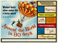 "Movie Posters:Adventure, Around the World in 80 Days (United Artists, 1956). British Quad(30"" X 40"").. ..."