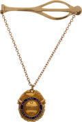 Baseball Collectibles:Others, 1938 Red Ruffing All-Star Game Presentational Tie Clasp. ...