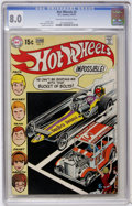 Bronze Age (1970-1979):Miscellaneous, Hot Wheels #2 (DC, 1970) CGC VF 8.0 Off-white to white pages....