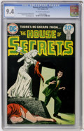Bronze Age (1970-1979):Horror, House of Secrets #115 (DC, 1974) CGC NM 9.4 Off-white to whitepages....