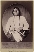 American Indian Art:Photography, SITTING BULL (Tatanka Iyotake), HUNKPAPA LAKOTA. . c. 1882. ...