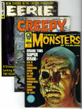 Magazines:Miscellaneous, Miscellaneous Monster Magazines Group (Various Publishers, 1965-70)Condition: Average VF+.... (Total: 32 Comic Books)