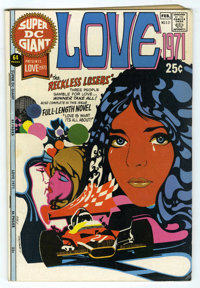 Super DC Giant #21 Love 1971 (DC, 1971) Condition: FN+