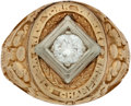 "Baseball Collectibles:Others, 1939 New York Yankees World Championship Lady's Ring Presented to Spurgeon ""Spud"" Chandler...."
