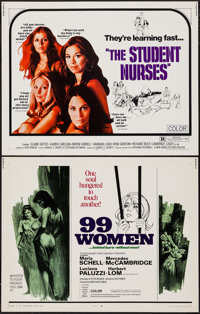 "99 Women & Others Lot (Commonwealth United, 1968). Half Sheets (4) (22"" X 28""). Bad Girl. ... (Total:..."