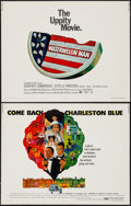 "Movie Posters:Blaxploitation, Come Back Charleston Blue & Other Lot (Warner Brothers, 1972).Half Sheets (2) (22"" X 28""). Blaxploitation.. ... (Total: 2 Items)"