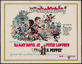 "Movie Posters:Comedy, Salt and Pepper & Others Lot (United Artists, 1968). Half Sheets (3) (22"" X 28""). Comedy.. ... (Total: 3 Items)"