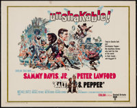 "Salt and Pepper & Others Lot (United Artists, 1968). Half Sheets (3) (22"" X 28""). Comedy. ... (Total:..."