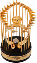 Baseball Collectibles:Others, 1986 New York Mets World Championship Trophy....