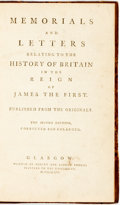 Books:World History, [James I, King of Great Britain-History]. Memorials And Letters Relating To The History Of Britain In The Reign Of James...