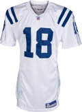 Football Collectibles:Uniforms, 2005 Peyton Manning Game Worn Indianapolis Colts Jersey. ...