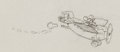 Animation Art:Production Drawing, The Mail Pilot Mickey Mouse Production Drawing Animation Art(Disney, 1933). ...