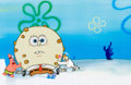 Animation Art:Production Cel, SpongeBob SquarePants, Patrick, and Sandy Production CelAnimation Art (NickToon Productions, 2000).... (Total: 2 Items)