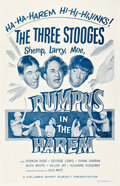 "Movie Posters:Comedy, Rumpus in the Harem (Columbia, 1956). One Sheet (27"" X 41"".5).. ..."